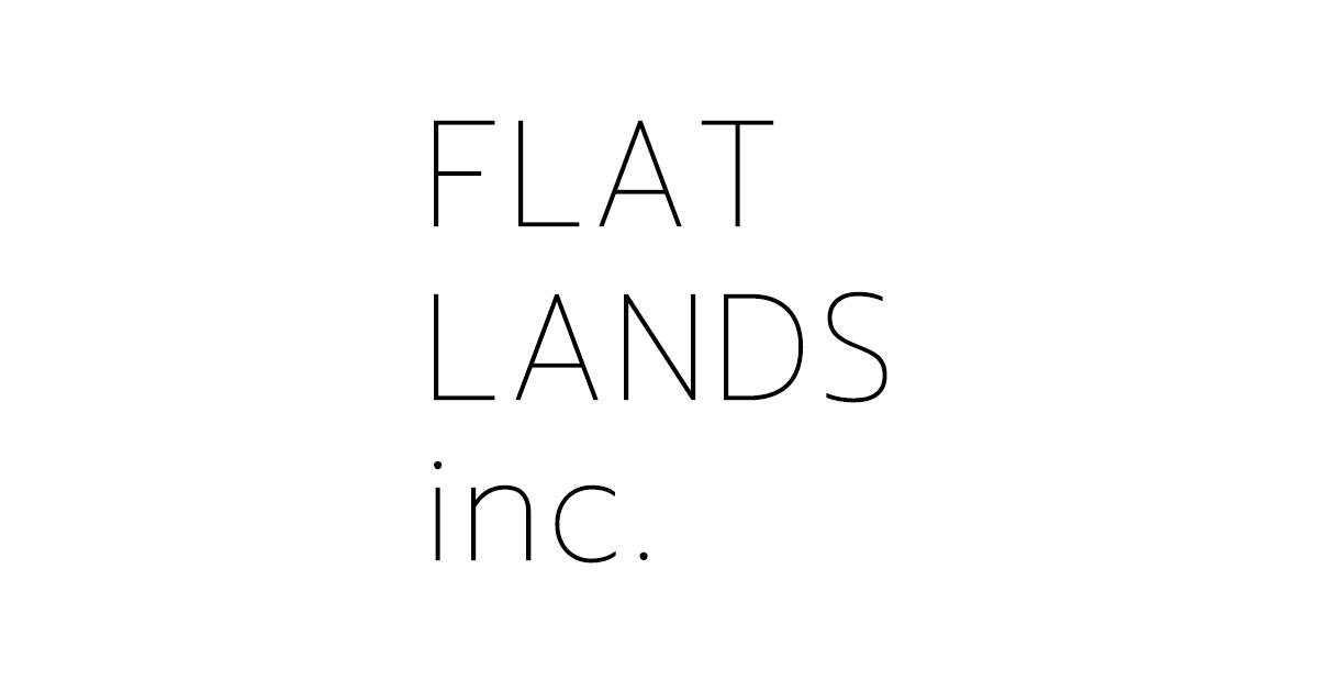 フラットランズのホームページがオープン!